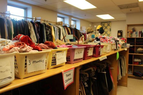 Chapter Two Thrift Shop is always fully stocked!