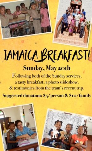 Jamaica Breakfast 2018 poster jpg