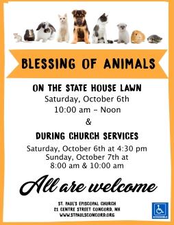 Blessing of Animals 2018 jpg