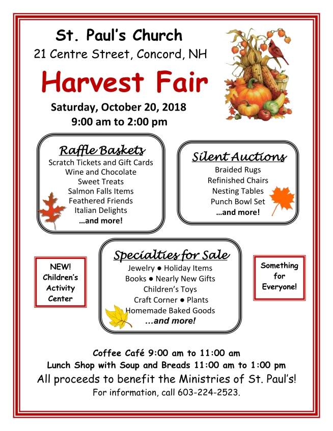 Harvest Fair 2018 jpg