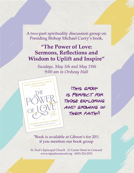 Power of Love Discussion Group