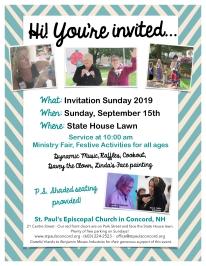 Invitation Sunday 2019 Poster