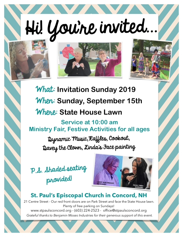 Invitation Sunday 2019 Poster