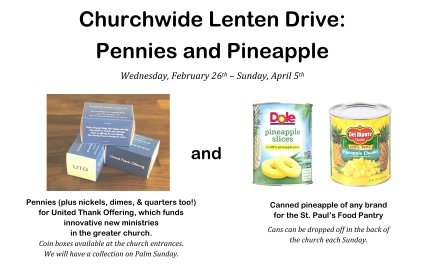 Pennies and Pineapples poster jpg